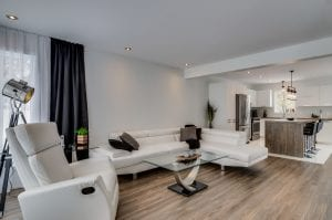 Semi-Detached with a Garage | Living Room