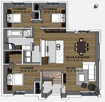 maison jumel e vendre maison contemporaine constructions mcl. Black Bedroom Furniture Sets. Home Design Ideas