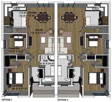 L 39 essentiel jumel maison neuve constructions mcl for Essentiel maison