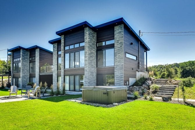 Cabin for Sale | Modern cabin Semi-detached | Constructions MCL
