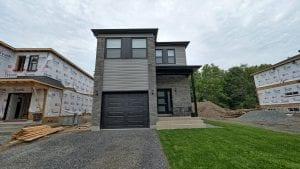 Maison Neuve unifamiliale ou Duplex   Façade