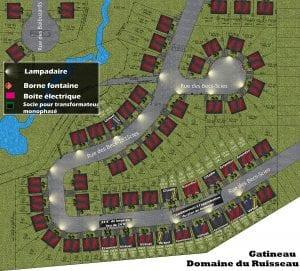 Plan du projet de Construction | Le Domaine du Ruisseau