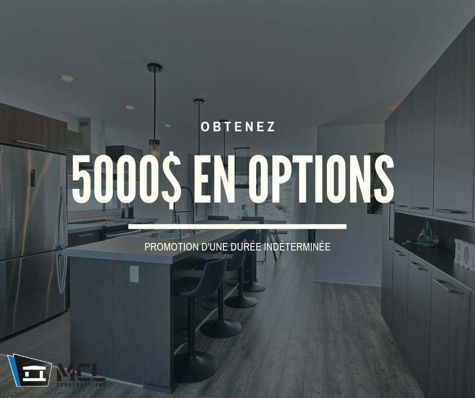 Promotion obtenez 5000$ en options
